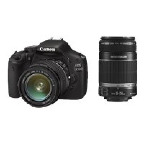 Canon EOS 550D SLR-Digitalkamera (18 Megapixel, LiveView) Double-Zoom Kit inkl. EF-S 18-55mm IS und EF-S 55-250mm IS Objektiv-36