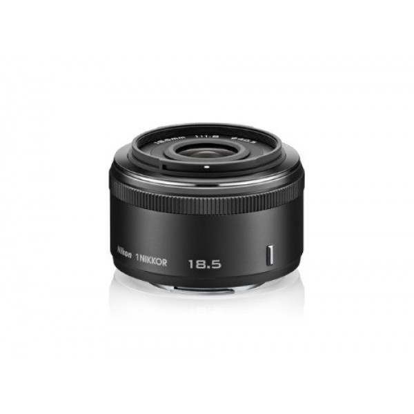 Nikon 1 Nikkor 18,5mm 1:1,8 Objektiv schwarz-33