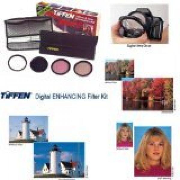 Tiffen Filter 55MM DIGITAL ENHANCING KIT-32