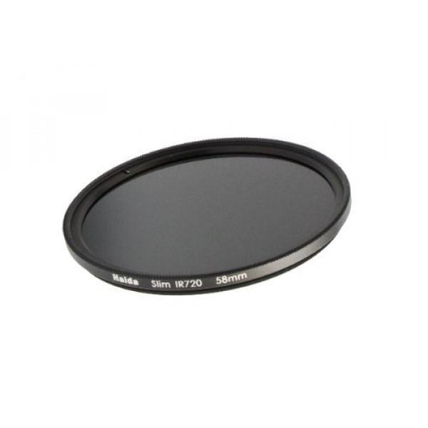 Slim Infrarotfilter 77mm 720nm Schlanke Fassung + Pro Lens Cap mit Innengriff-33