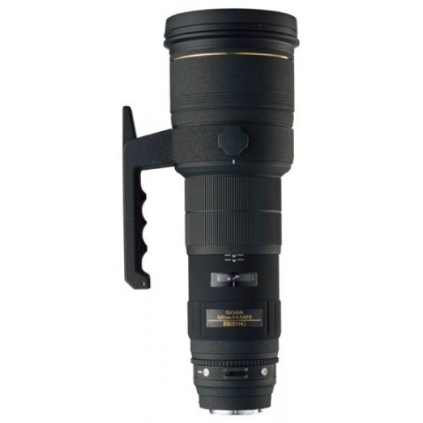 Sigma 500 mm F4,5 EX DG HSM-Objektiv (46 mm Filterschublade) für Nikon Objektivbajonett-31