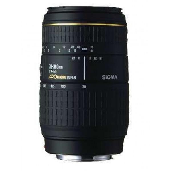 Sigma 4-5,6/70-300MM APO MACRO DG PENTAX AF-31