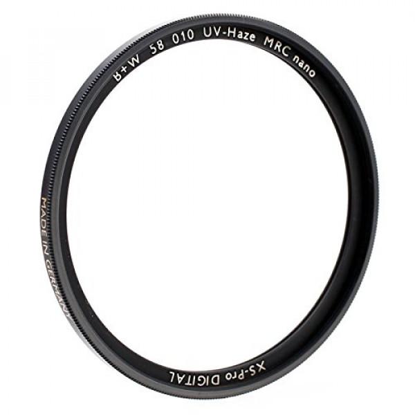B+W 010 UV-Filter (UV-Sperrfilter) 62mm mit MRC nano Mehrfachvergütung und XS-Pro Slim-Fassung Made in Germany by Schneider Kreuznach-32