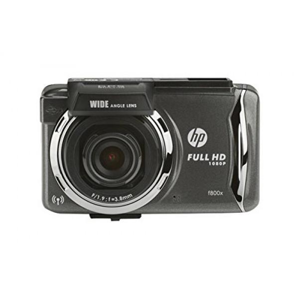HP F800X Fahrtenaufzeichner (MicroSD (TransFlash), MicroSDHC, Batterie/Akku, Zigarettenanzünder, LCD, Lithium Polymer (LiPo))-31