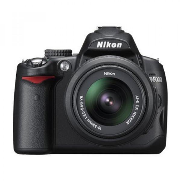 Nikon D5000 SLR-Digitalkamera (12 Megapixel, Live-View, HD-Videofunktion) Kit inkl. 18-55mm 1:3,5-5,6G VR Objektiv (bildstab.)-38