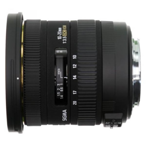 Sigma 10-20 mm F3,5 EX DC HSM-Objektiv (82 mm Filtergewinde) für Sigma Objektivbajonett-31