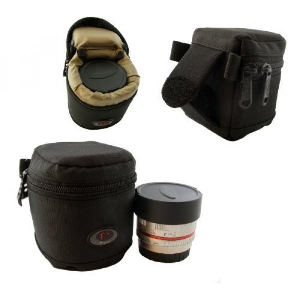 Qualitäts Mini Köcher für Systemkamera Objektive, Konverter usw. Modell Nr. 1 65 mm x 65 mm-34