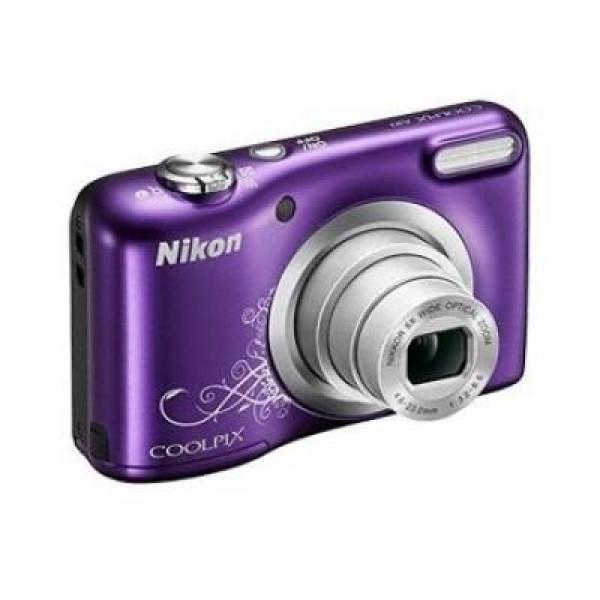 Nikon Coolpix A10 Kamera Kit violett lineart-31