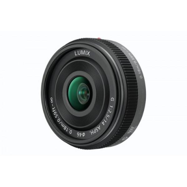 Panasonic H-H014E Pancake-Objektiv Lumix G F2,5/ 14 mm (28 mm KB, 46 mm Filtergewinde) schwarz-33
