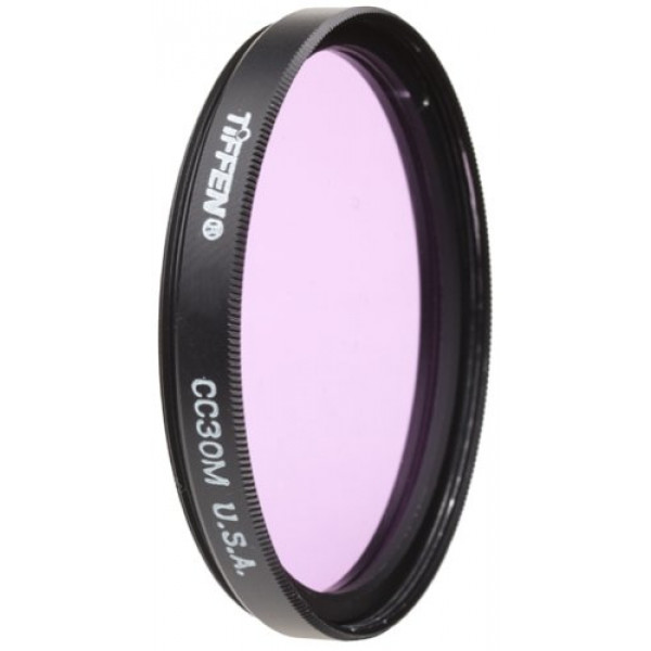Tiffen Filter 55MM CC30 MAGENTA FILTER-31