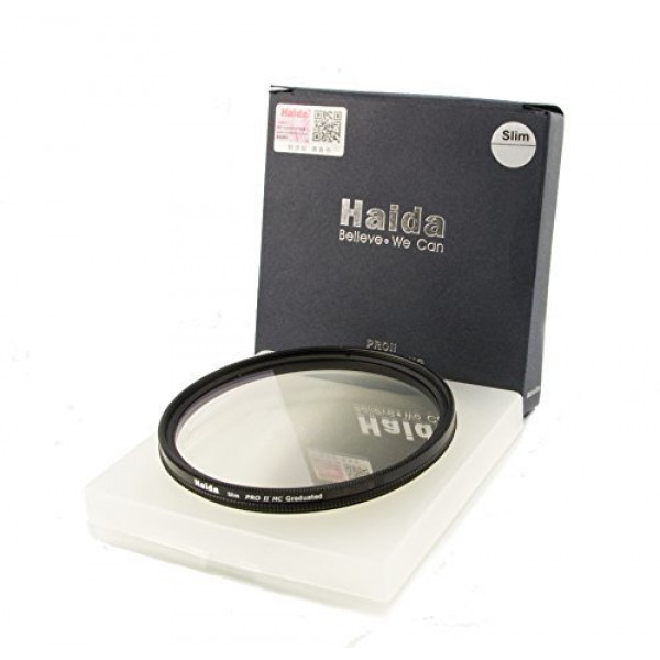 HAIDA Slim Pro II MC Optical GND Verlaufsfilter 0,9 (8x) (12,5 %) 67mm inkl. Cap-31