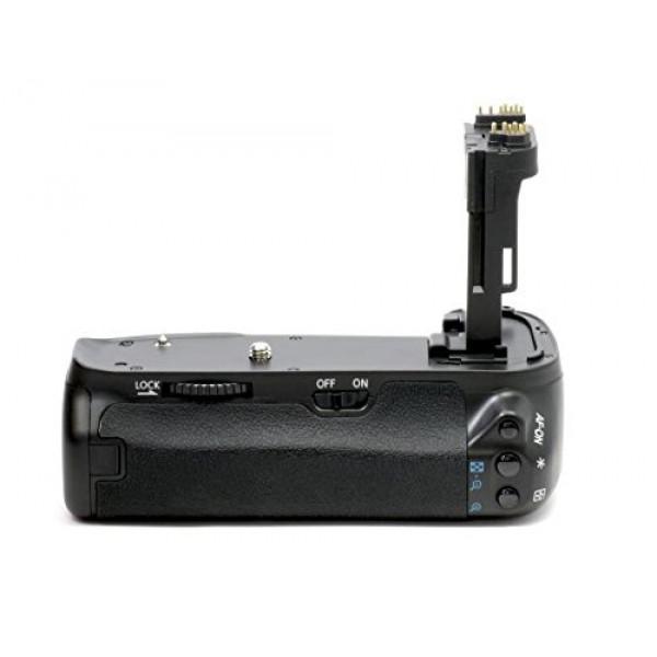 Meike Profi Batteriegriff für Canon EOS 6D ähnlich wie BG-E13 für 2x LP-E6 und 6x AA Batterien-39