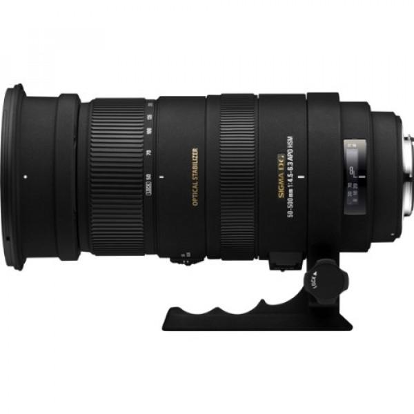 Sigma 50-500 mm F4,5-6,3 DG OS HSM-Objektiv (95 mm Filtergewinde) für Sigma Objektivbajonett-31