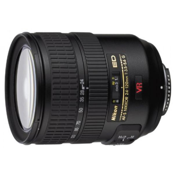 Nikon AF-S Zoom-Nikkor 24-120mm 1:3,5-5,6G IF-ED VR Objektiv (72 mm Filtergewinde, bildstab.)-31