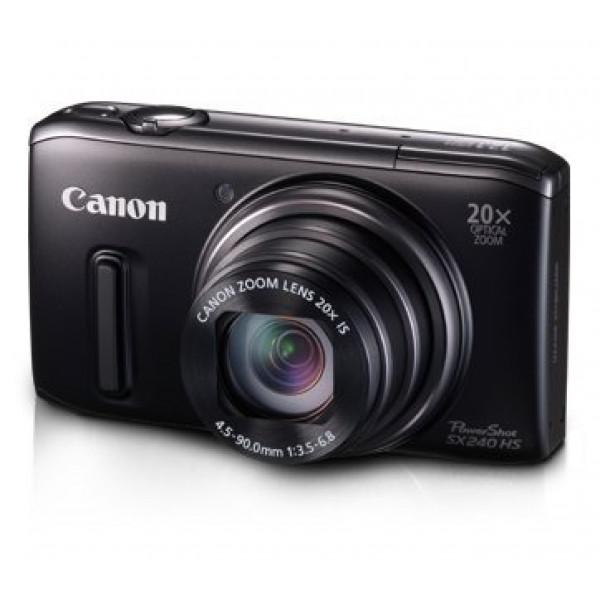 Canon PowerShot SX 240 HS Digitalkamera (12,1 Megapixel, 20-fach opt. Zoom, 7,6 cm (3 Zoll) Display, bildstabilisiert) schwarz-35