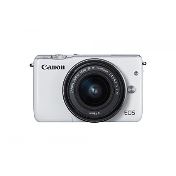 Canon EOS M10 Systemkamera (18 Megapixel, 7,5 cm (3 Zoll) Display, STM, WLAN, NFC, 1080p, Full HD) Kit mit EF-M 15-45mm IS weiß-38