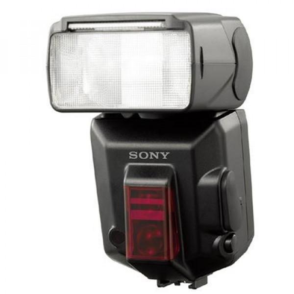 Sony HVL-F56AM Programm-Blitz für Alpha-Spiegelreflex mit Leitzahl 56-31