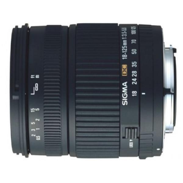 Sigma 18-125/3,5-5,6 DC digital Objektiv für Nikon D-31