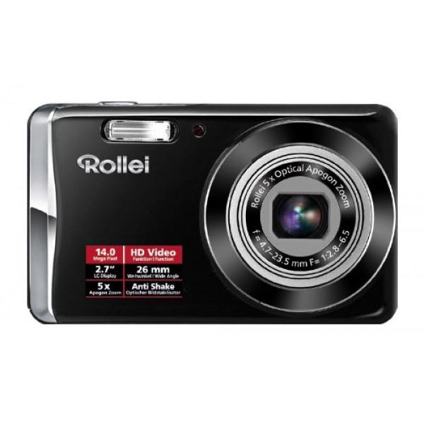 Rollei Compactline 390 Kompaktkamera (14 Megapixel, 5-fach optischer Zoom, 26 mm Weitwinkelobjektiv, 6,85 cm ( 2,7 Zoll ) Display) schwarz-36