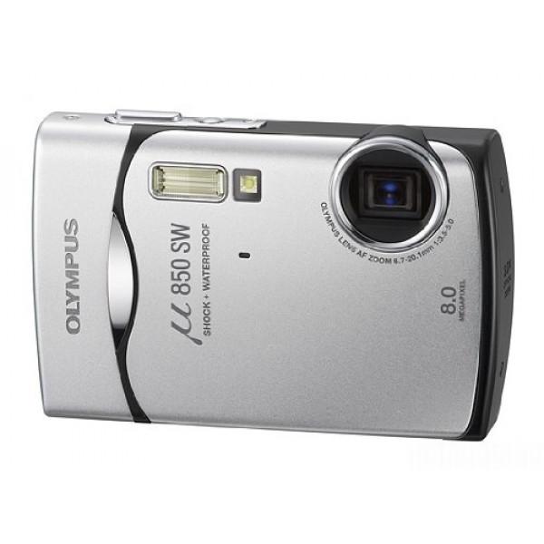 Olympus Mju-850SW Digitalkamera (8 Megapixel, 3-fach opt. Zoom, 6,4 cm (2,5 Zoll) Display) Starry Silver-34