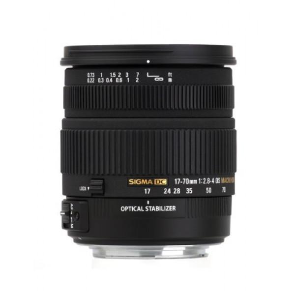 Sigma 17-70 mm F2,8-4,0 DC Makro OS HSM-Objektiv (72 mm Filtergewinde) für Canon Objektivbajonett-31