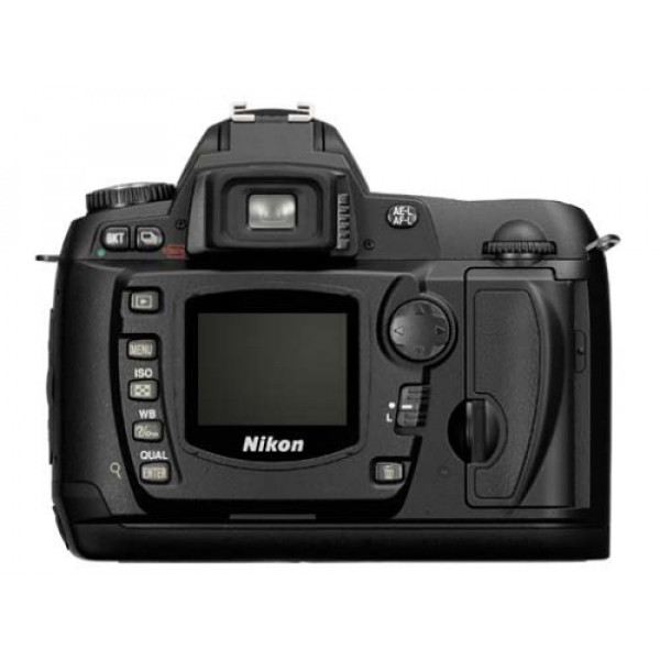 Nikon D-70 Kit digitale Spiegelreflexkamera (6,1 Megapixel) inkl. DX Nikkor 18-70-31