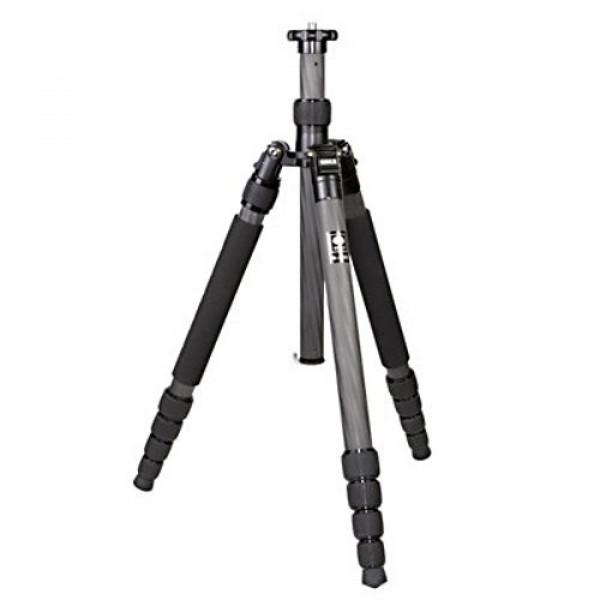 SIRUI N-1205 Universal Drei-/Einbeinstativ (Carbon, Höhe: 153cm, Gewicht: 1.0kg, Belastbarkeit: 10kg) mit Tasche und Gurt-35