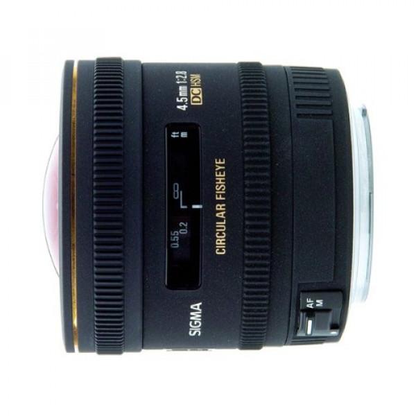 Sigma 4,5 mm F2,8 EX DC HSM Zirkular Fisheye-Objektiv (Gelatinefilter) für Sigma-31