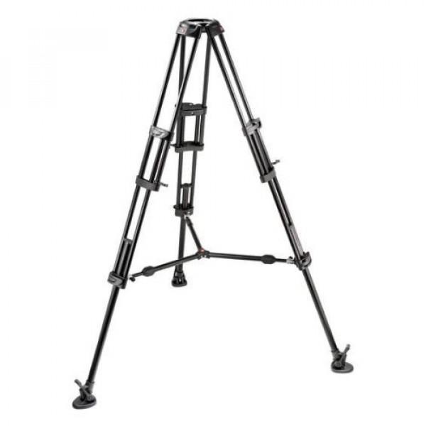 Manfrotto Video-Pro-Stativ mit 100 mm Halbschale und Mittelspinne-31