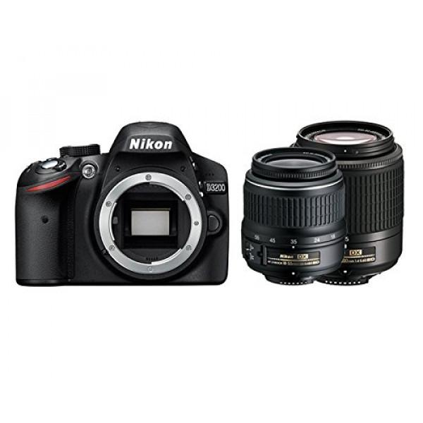 Nikon D3200 Spiegelreflexkamera, AF-S DX 18-55 II + 55-200-31