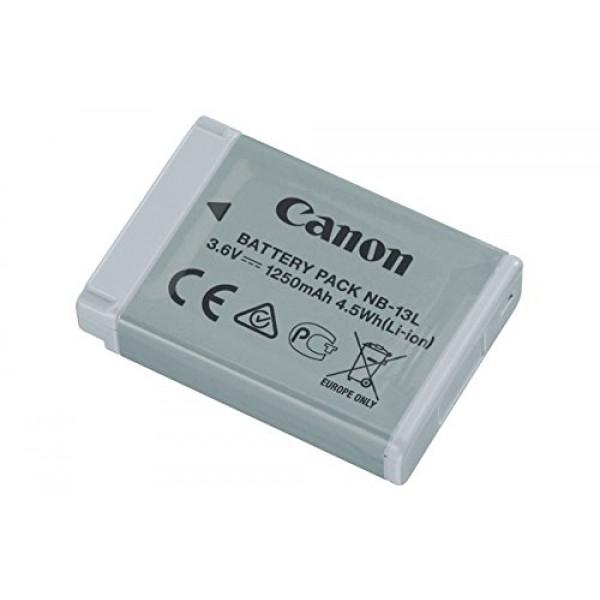 Canon 9839B001AA Akku NB-13L in grau für Canon PowerShot G7X-31