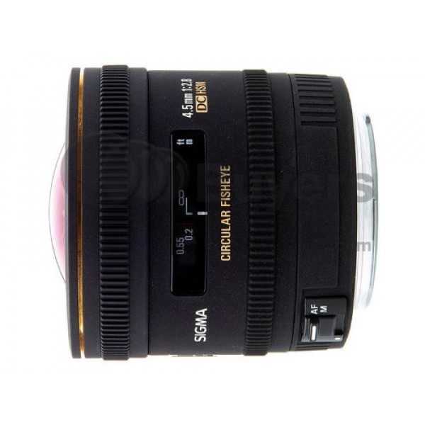 Sigma 4,5 mm F2,8 EX DC HSM Zirkular Fisheye-Objektiv (Gelatinefilter) für Nikon Objektivbajonett-31