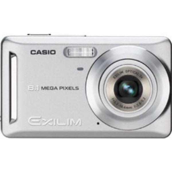 "Casio EXILIM EX-Z9 SR Digitalkamera (8 Megapixel, 3-fach opt. Zoom, 2,6"" Display) silber-33"