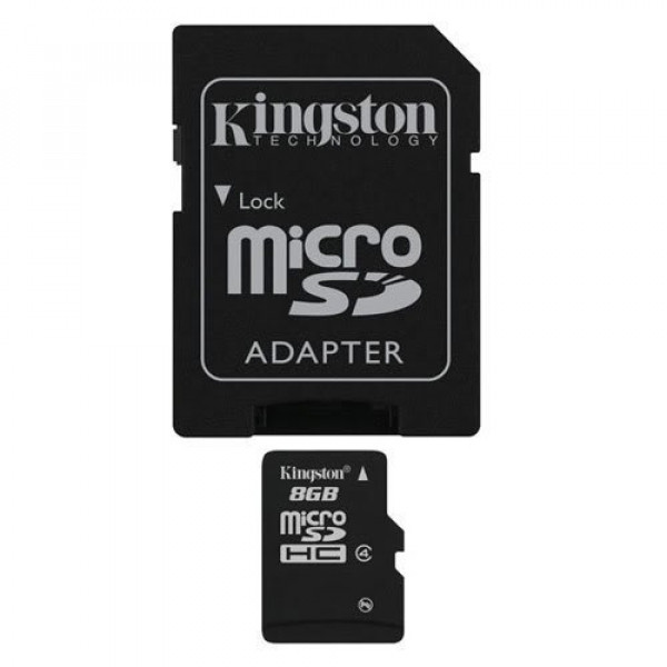 Professional Kingston MicroSDHC 8GB (8 Gigabyte) Card for Nokia Asha 201 Phone with custom formatting and Standard SD Adapter. (SDHC Class 4 Certified)-31