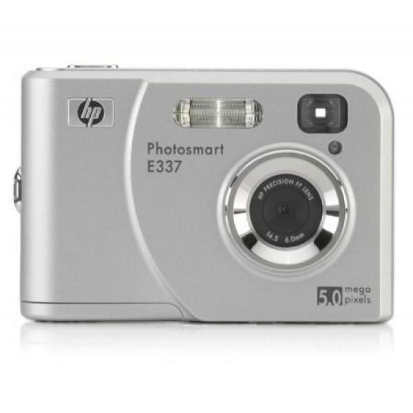 HP PhotoSmart E337 Digitalkamera 5.0 (2576 x 1920) 16 MB Silber silber-31