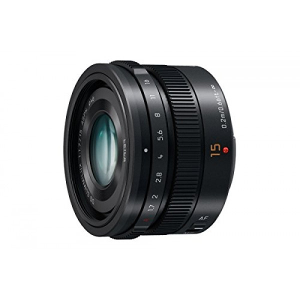 Panasonic H-X015E LEICA DG SUMMILUX 15 mm F1.7 ASPH. Objektiv (Festbrennweiten Objektiv, Bildwinkel 72°, Filtergröße 46 mm) schwarz-33