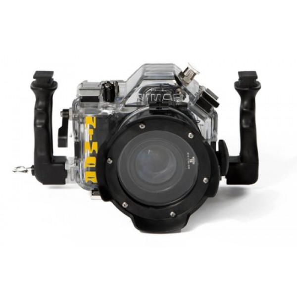 Unterwasser digitalkamera Nimar Unterwassergehäuse für Spiegelreflexkamera Canon 650D + kit EF-S 18/55 mm f/3.5-5.6 ISII-33