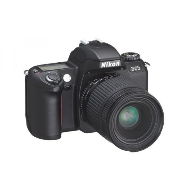 Nikon F65 QD Spiegelreflexkamera (schwarz) mit Datenrückwand-32