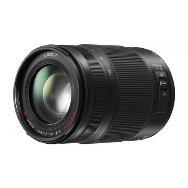 Panasonic H-HS35100E LUMIX G X Vario Telezoom 35-100 mm F2.8 Objektiv (70-200 mm KB, Power O.I.S. Bildstabilisator, Staub-/Spritzwasserschutz) schwarz-33