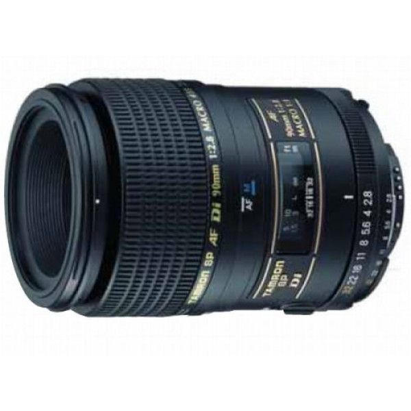 Tamron AF 90mm 2,8 Di Macro 1:1 SP digitales Objektiv für Canon-31