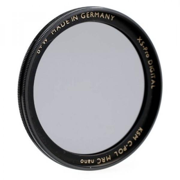 B+W AUC Zirkular-Polfilter (CPL-Filter, Polarisationsfilter) Käsemann mit MRC-Vergütung and XS-Pro Slim-Fassung 58mm-32