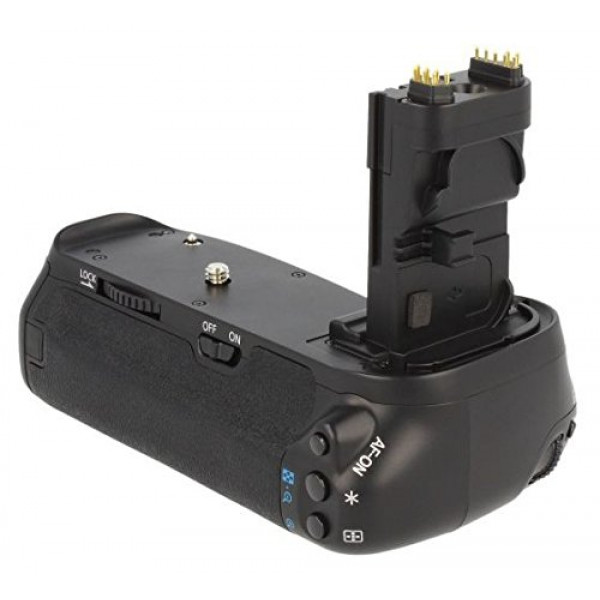 Profi Batteriegriff für Canon EOS 70D wie der BG-E14 für 2x LP-E6 und 6 AA Batterien-39
