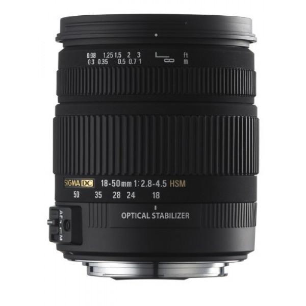 Sigma 18-50 mm F2.8-4.5 DC OS HSM-Objektiv (67 mm Filtergewinde) für Sigma Objektivbajonett-31