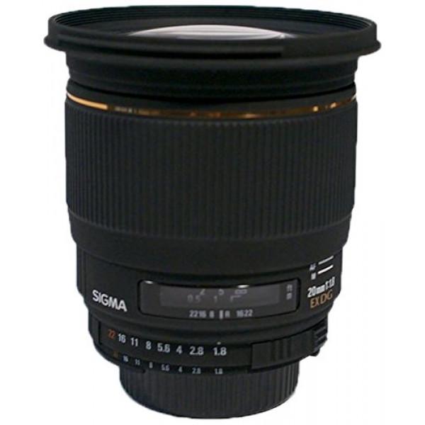 Sigma 20 mm F1,8 EX aspherical DG-Objektiv (82 mm Filtergewinde) für Nikon Objektivbajonett-31