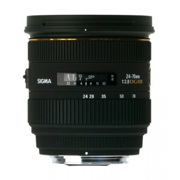 Sigma 24-70 mm F2,8 EX DG HSM-Objektiv (82 mm Filtergewinde) nur für Sigma-Kameras Objektivbajonett-31