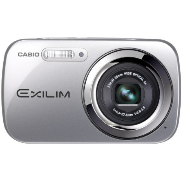 Casio Exilim EX-N5SR Digitalkamera (16,1 Megapixel, 6,9 cm (2,7 Zoll) Display, 6-fach opt. Zoom, Make-up Modus, Gesichtserkennung-Funktion) silber-33