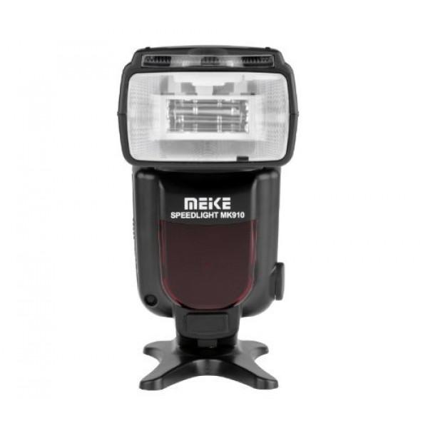 Khalia-Foto HSS i-TTL Speedlite MK910 Blitz für Nikon DSLR von Meike, 1/8000 Highspeed Sync, Master/Slave, Second Curtain Sync-35
