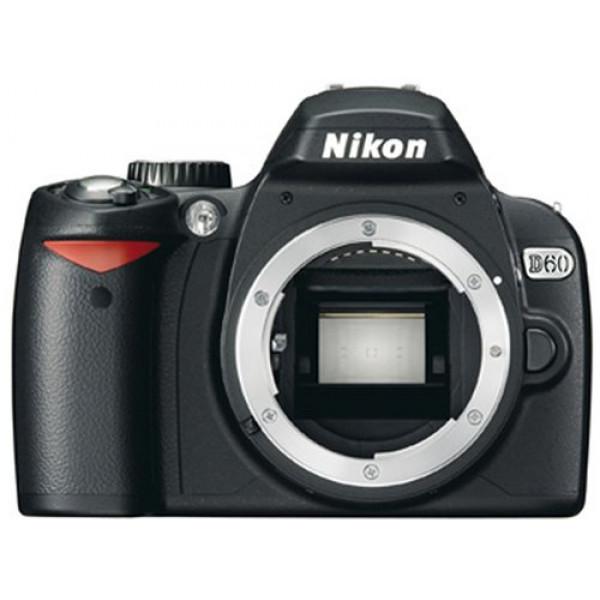 Nikon D60 SLR-Digitalkamera (10 Megapixel) Gehäuse-34