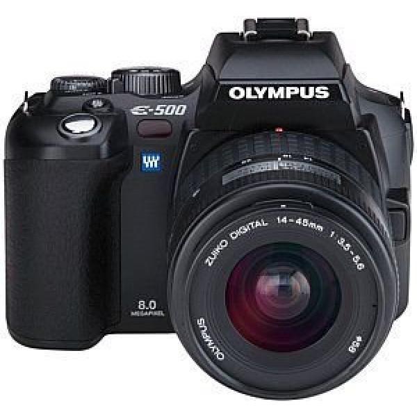 Olympus E-500 SLR-Digitalkamera (8 Megapixel) inkl. Zuiko Digital 14-45 mm-31