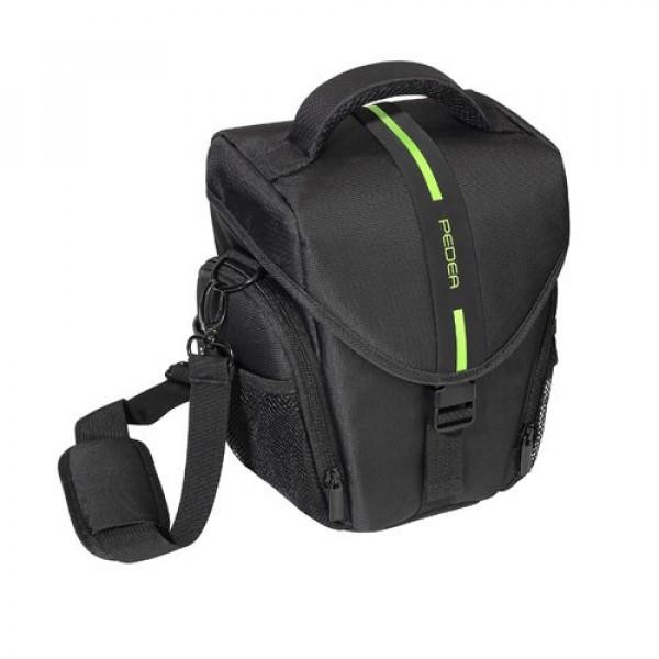 """PEDEA """"Essex"""" SLR-Kameratasche (Tragegurt und Zubehörfach, Toploader) Gr. L-36"""